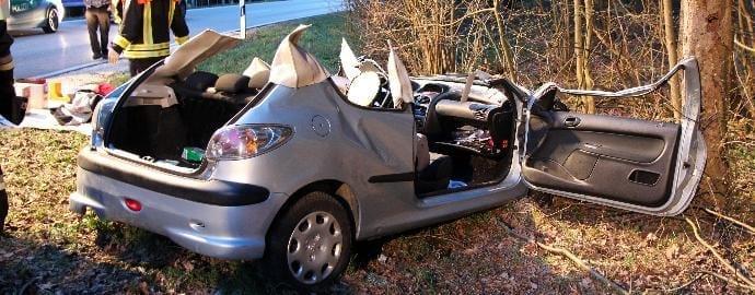 Verkehrsunfall Schönenberg