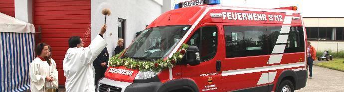 bsaktuell.de, Fahrzeugweihe der Feuerwehr Ettenbeuren,