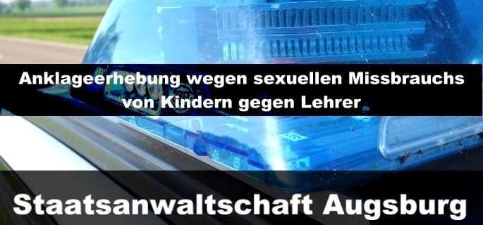 Staatsanwaltschaft Augsburg erhebt Anklage