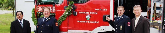 Feuerwehr Kissendorf Fahrzeugweihe, Bsaktuell.de, Nachrichten