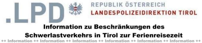 NAchrichten BSAktuell, Landespolizeidirektion Informiert über Schwerlast Fahrverbote, BSAktuell.de
