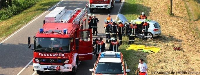 Verkehraunfall, Illertissen, Jedesheim, Bsaktuell, Schwaben Aktuell