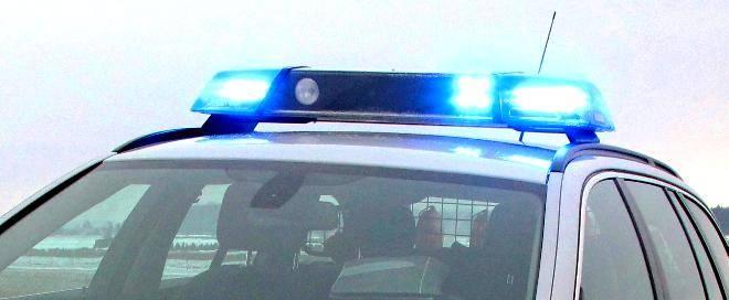 Blaulicht auf Einsatzfahrzeug