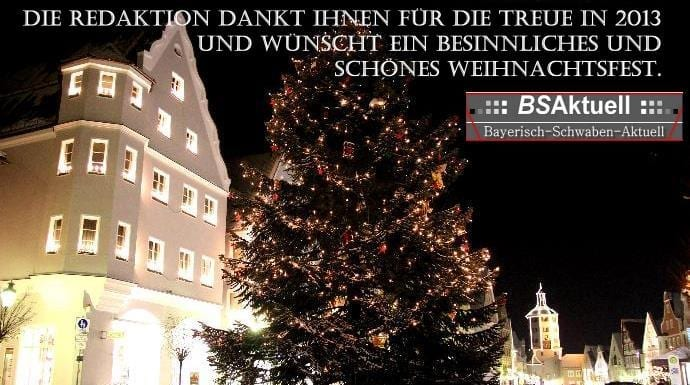 Weihnachten 2013 BSAktuell, Bayerisch-Schwaben-Aktuell