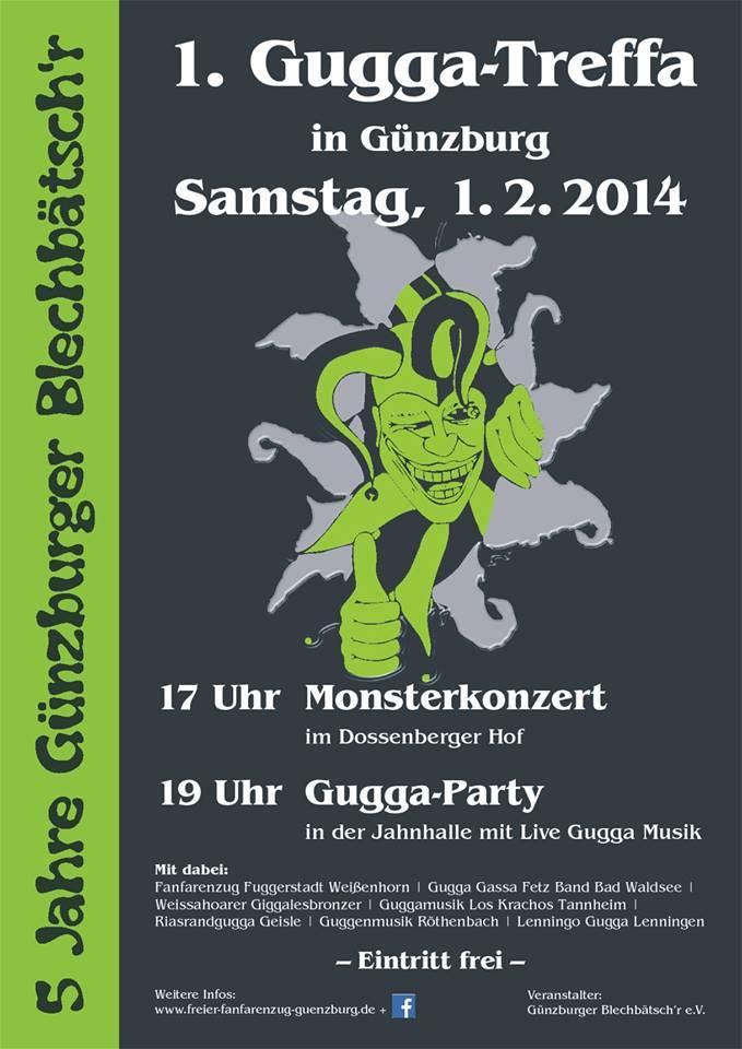 Günzburger Blechbätschr laden zum ersten Gugga-Treffen nach Günzburg, 5 Jahre Blechbätschr Günzburg, BSAktuell, Mario Obeser