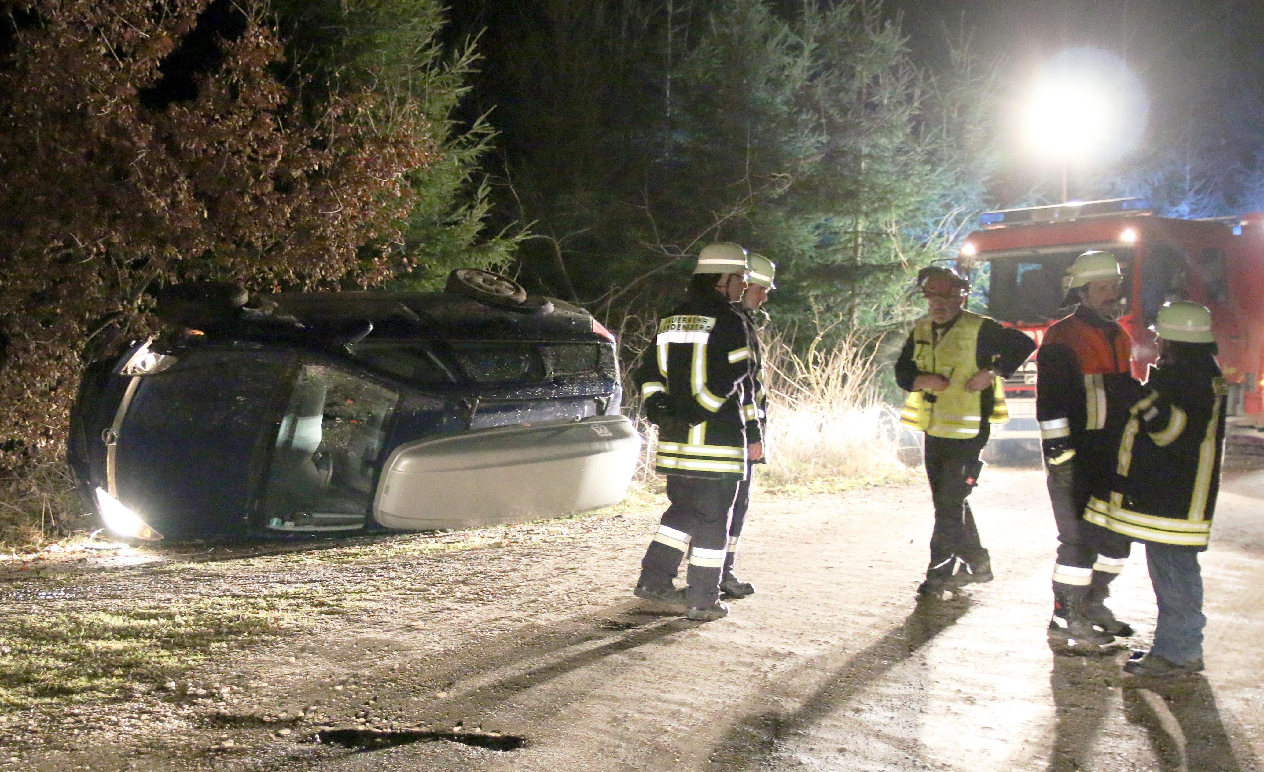 Bsaktuell, Verkehrsunfall Landensberg, Feuerwehr Landensberg, Schwaben Aktuell
