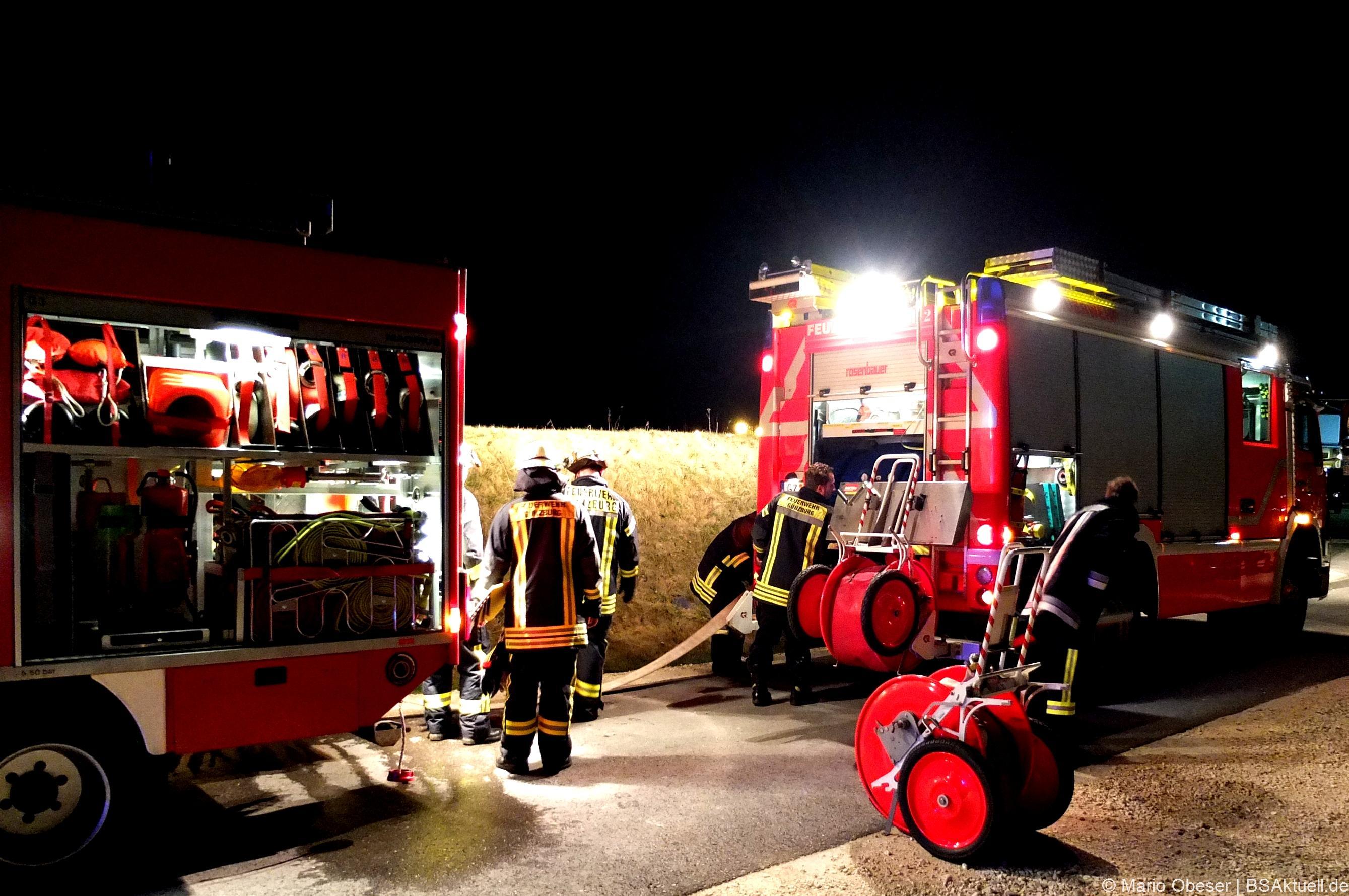 Feuerwehr Günzburg, Feuerwehr Deffingen, Bayerisch Schwaben, Günzbuger Feuerwehren