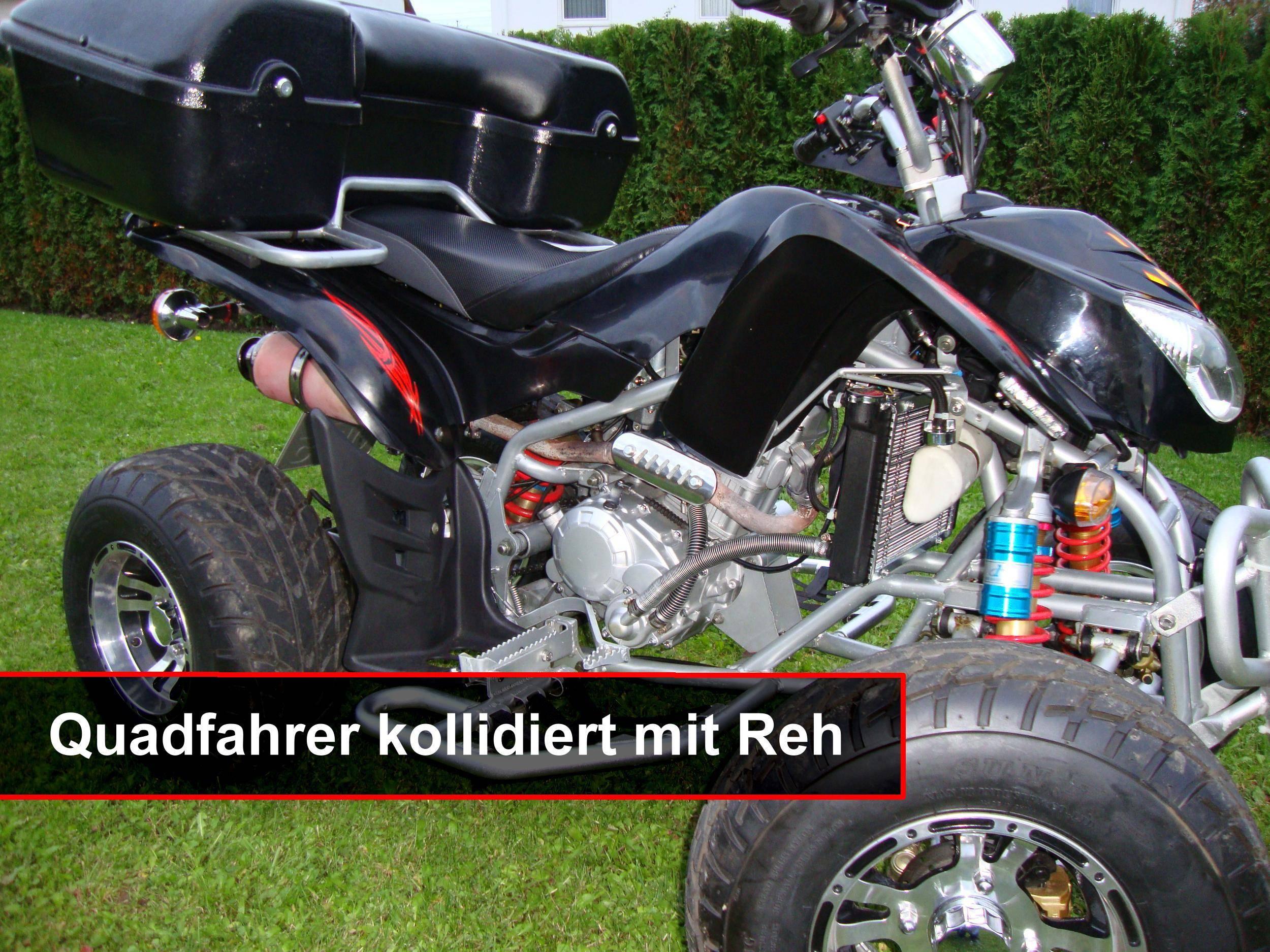 Quad, Unfall, Bayerisch Schwaben, Bsaktuell, Mario Obeser,