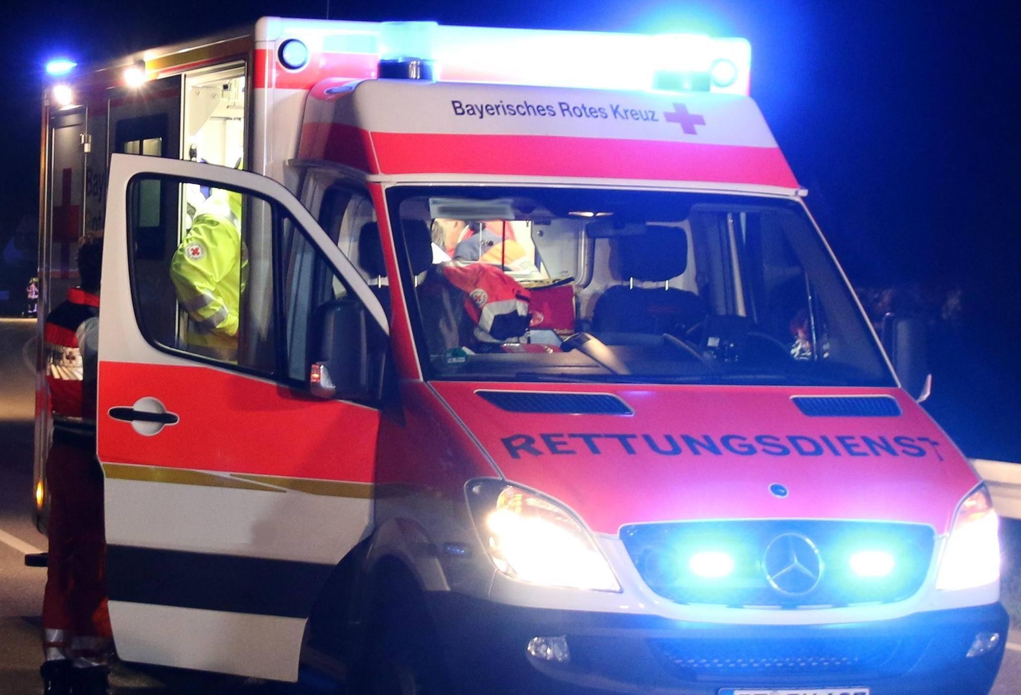 Rettungswagen, Bsaktuell, bayerisch Schwaben