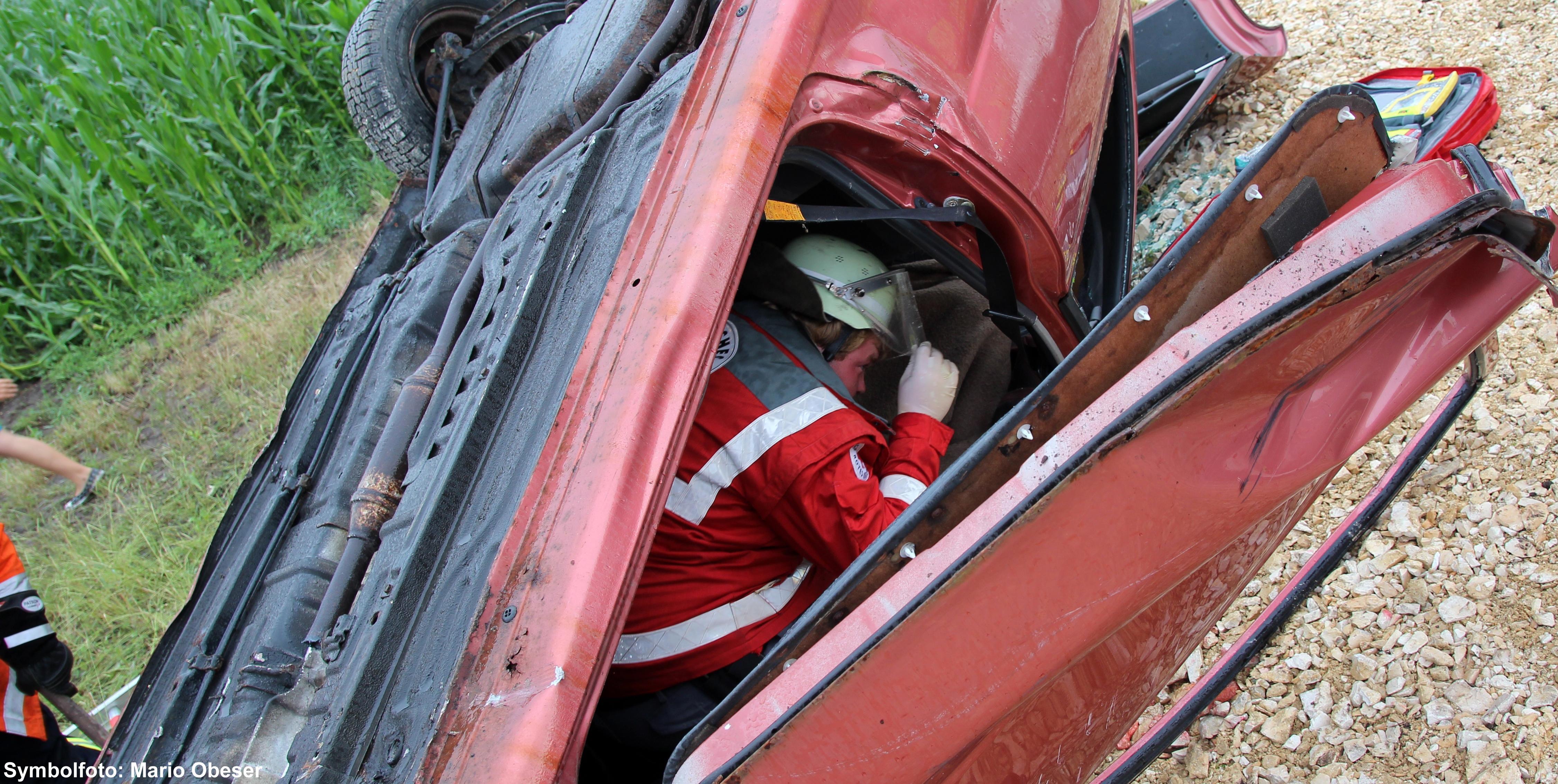 Verkehrsunfall, Bsaktuell, Schwaben Nachrichten, Mario Obeser, DRK