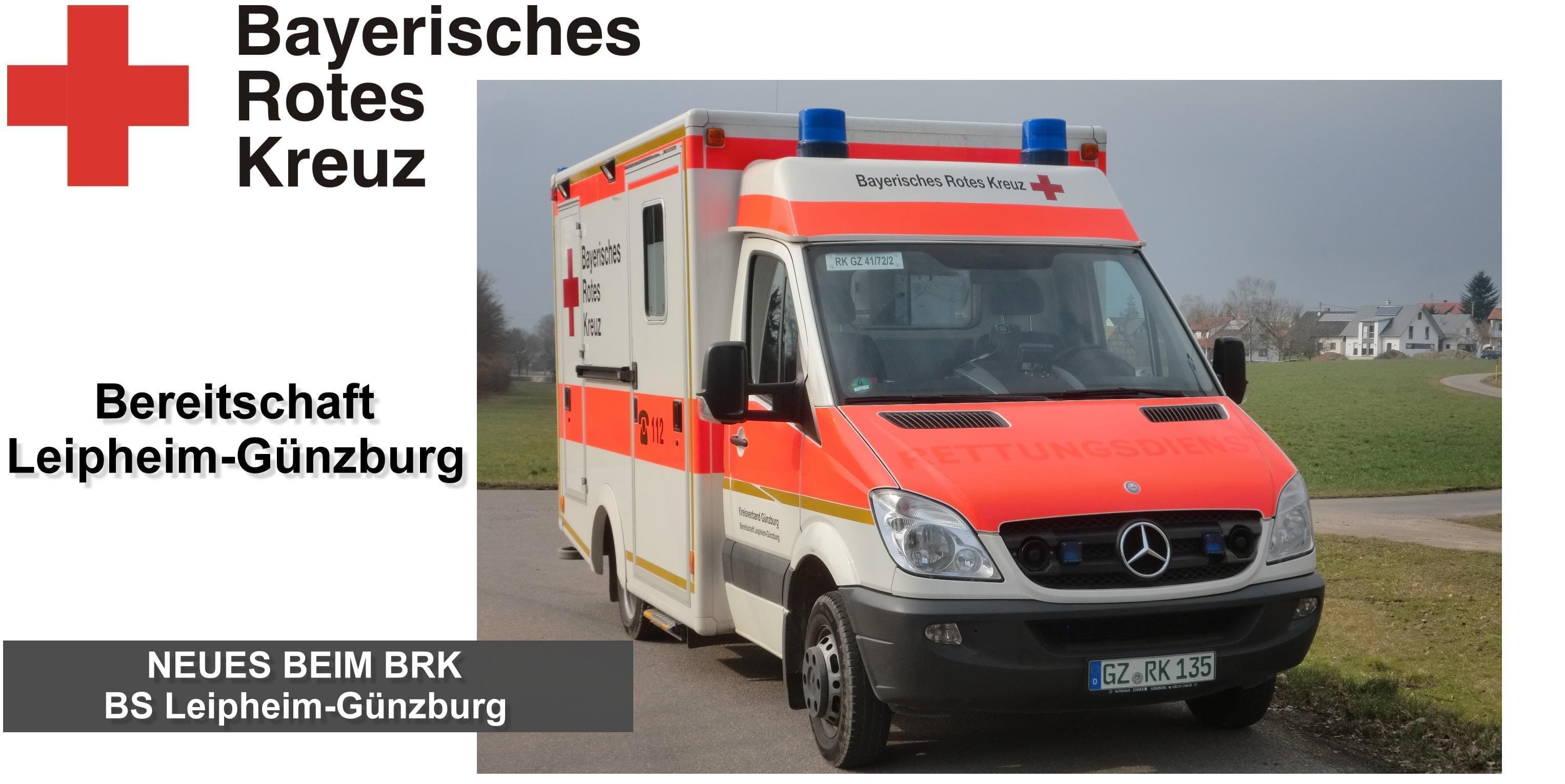 BayerischesRotesKreuz BereitschaftLeipheim Günzburg