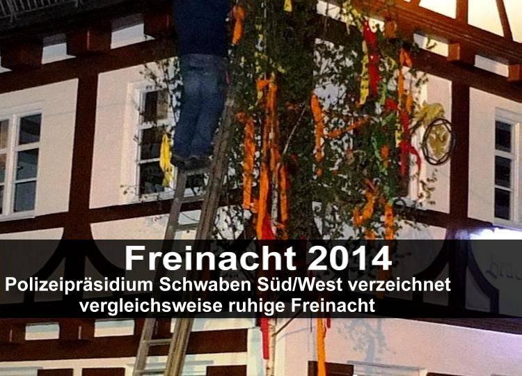 Bsaktuell, Maibaum, Freinacht