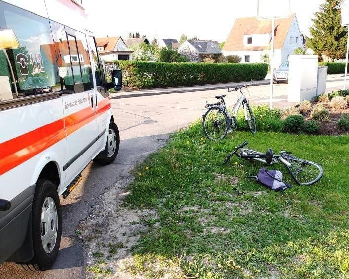 Fahrradunfall, Radunfall, Unfall mit Radler, Bsaktuell, Nachrichten