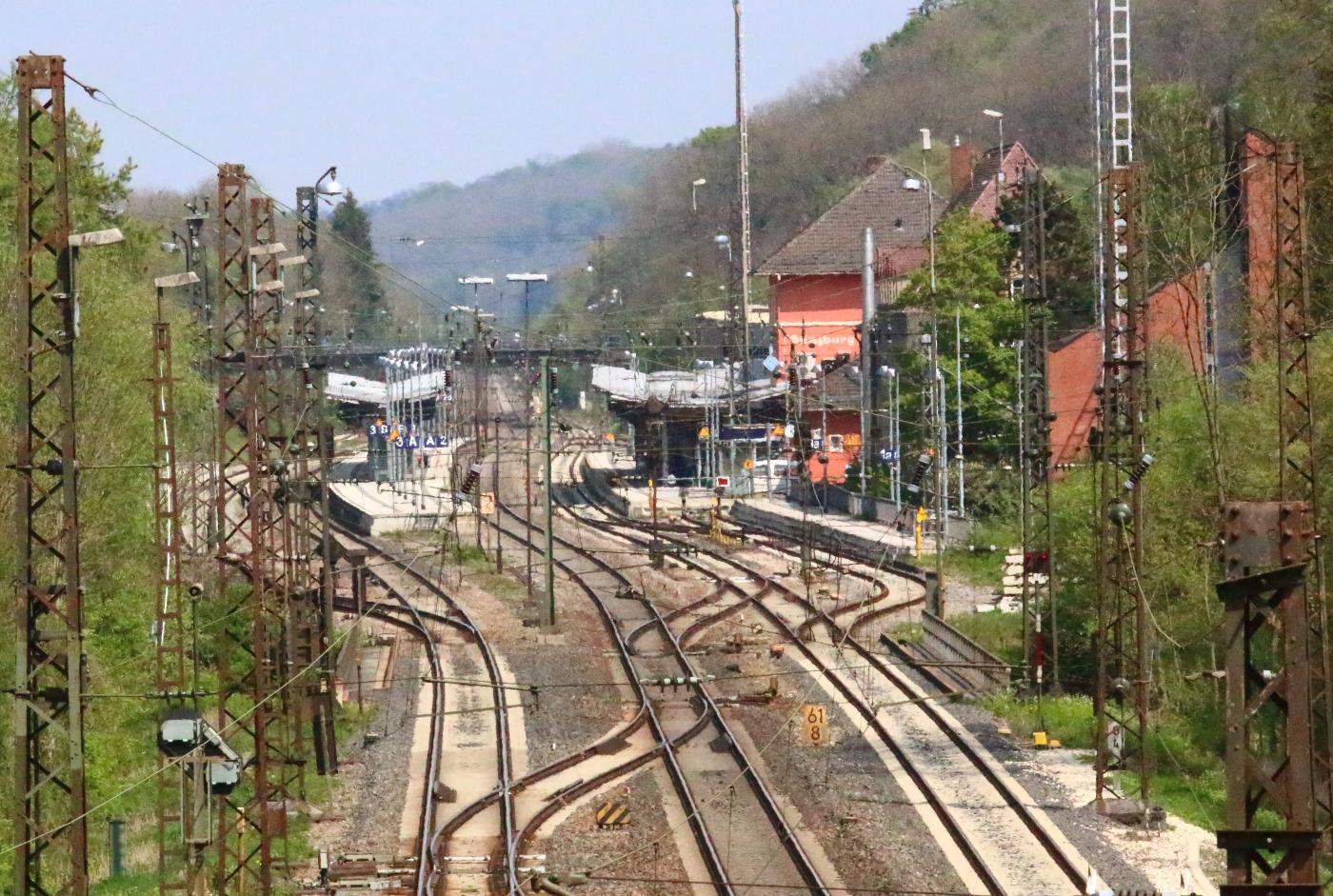 Bsaktuell, Gleise, Güznburg, Bahnhof Günzburg, Schwaben Aktuell