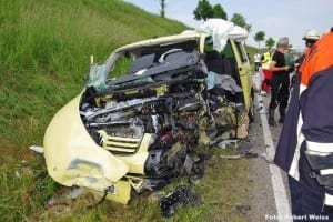 Unfall ZiemetshausUnfall Ziemetshausen B300, BSAktuellen B300