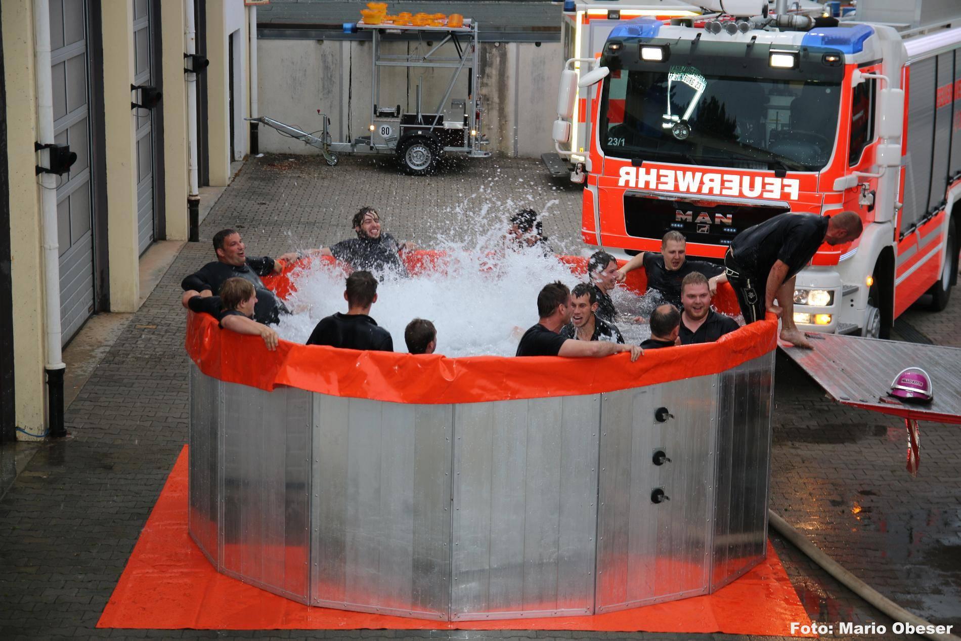 Cold Water Challenge Günzburg, Bsaktuell, Nachrichten