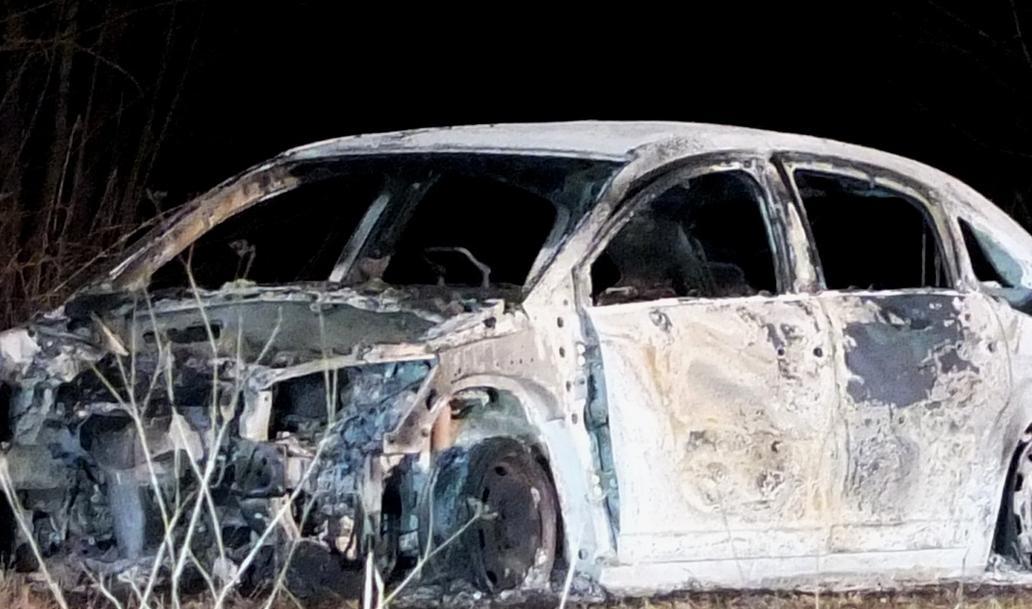 PKW brand, PKW brennt nach Unfall, BSAktuell