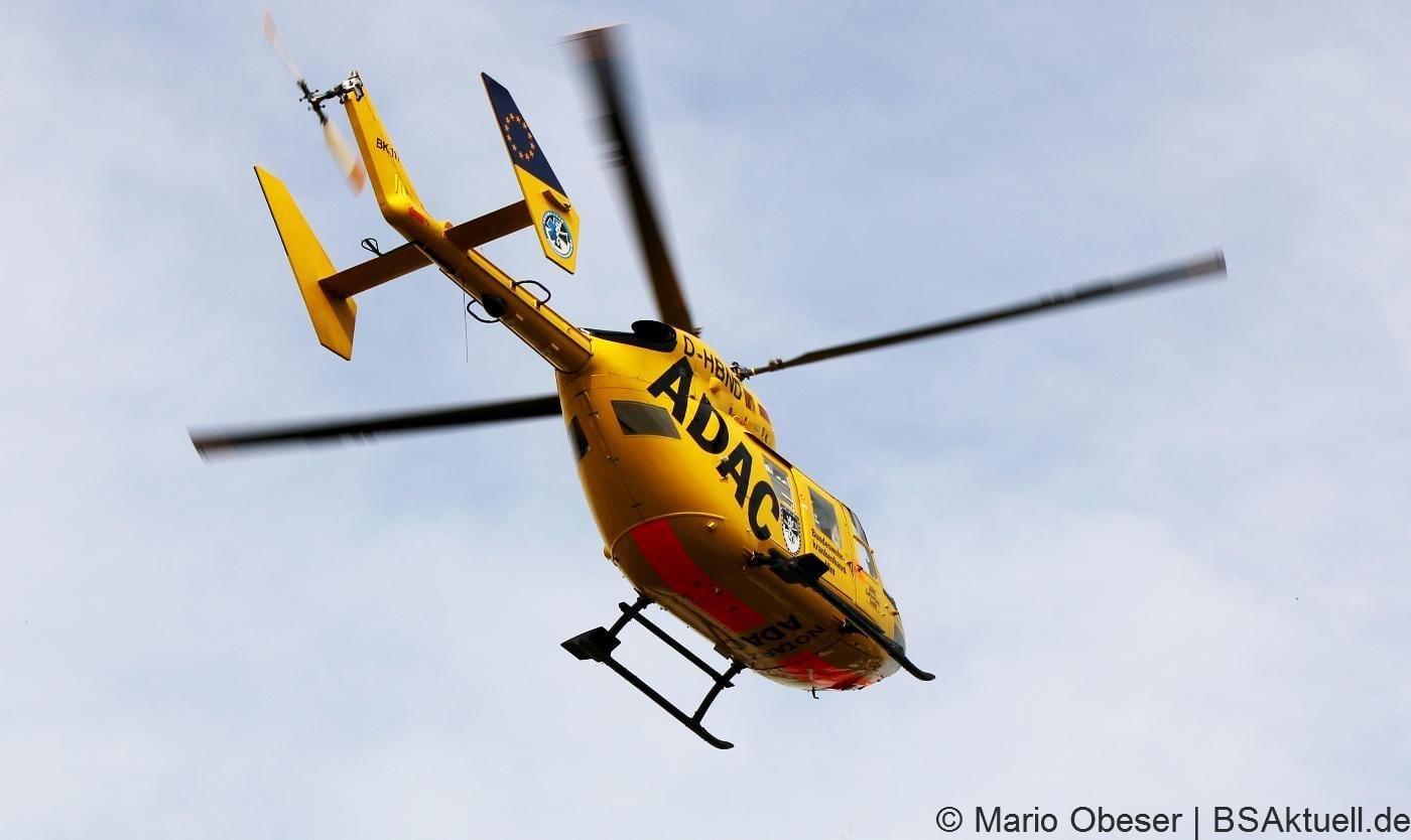 RTH, Rettungshubschrauber, Einsatz Hubschrauber,