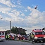 Brand mit schlimmen Folgen in Ziemetshausen, im Landkreis Günzburg, bei dem fünf Menschen teils lebensbedrohlich verletzt wurden.