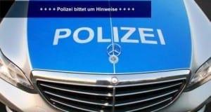 Polizei sucht Zeugen und Hinweise.