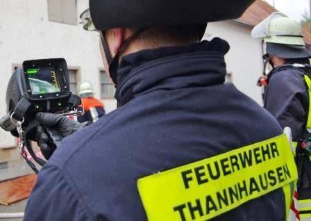 Wärmebilkamera der Feuerwehr Thannhausen