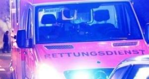 Retungswagen des Bayerischen Roten Kreuz