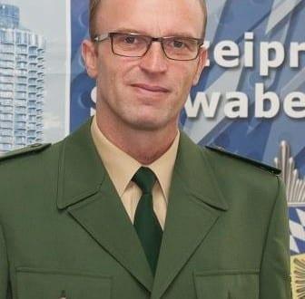 Neuer stellvertretender Leiter der Polizeiinspektion Augsburg Mitte Polizeioberrat Robert Kühnel