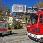 Rauchentwicklung in Seniorenheim in Thannhausen Schwaben, geht glimpflich aus.