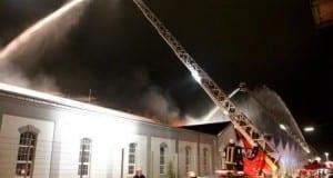 Vöhringen, Brand Vöhringen, Feuerwehr Vöhringen, Großbrand Wieland Vöhringen, Bsaktuell, Nachrichten