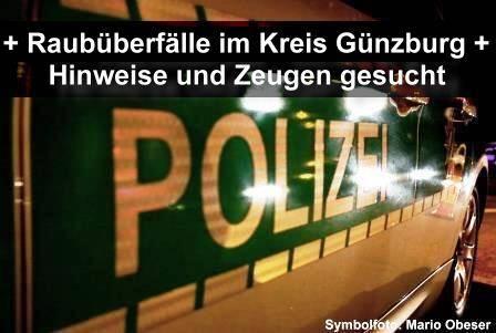 Raubüberfall in Günzburg