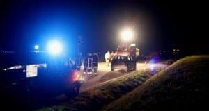 Tödlicher Verkehrsunfall bei Lauterbach Kreis Augsburg