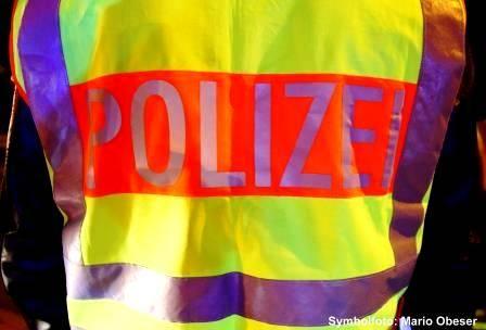 Warnweste Polizei Bayern