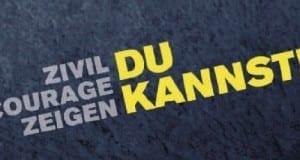 Zivil Courage Zeigen