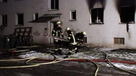 Brand in Obdachlosenwohnheim Günzburg