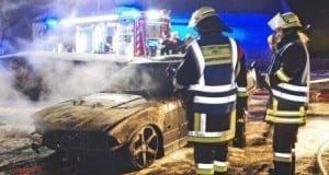 Garagenbrand in Ziemetshausen