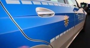 Polizeifahrzeug Ulm