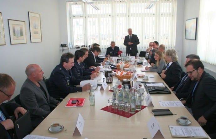 Zweite Sicherheitkonferenz im Landratsamt Heidenheim