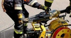 Spreizer der Feuerwehr
