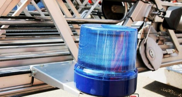 Feuerwehr DLK Blaulicht