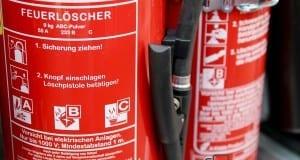 Feuerwehr Feuerlöscher