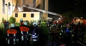 Brand Kloster Maria Medingen
