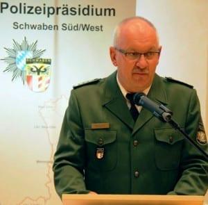 Erster Polizeihauptkommissar Ernst Maguhn. Foto: Polizei