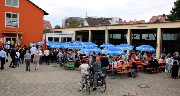 Feuerwehr Günzburg Gartenfest
