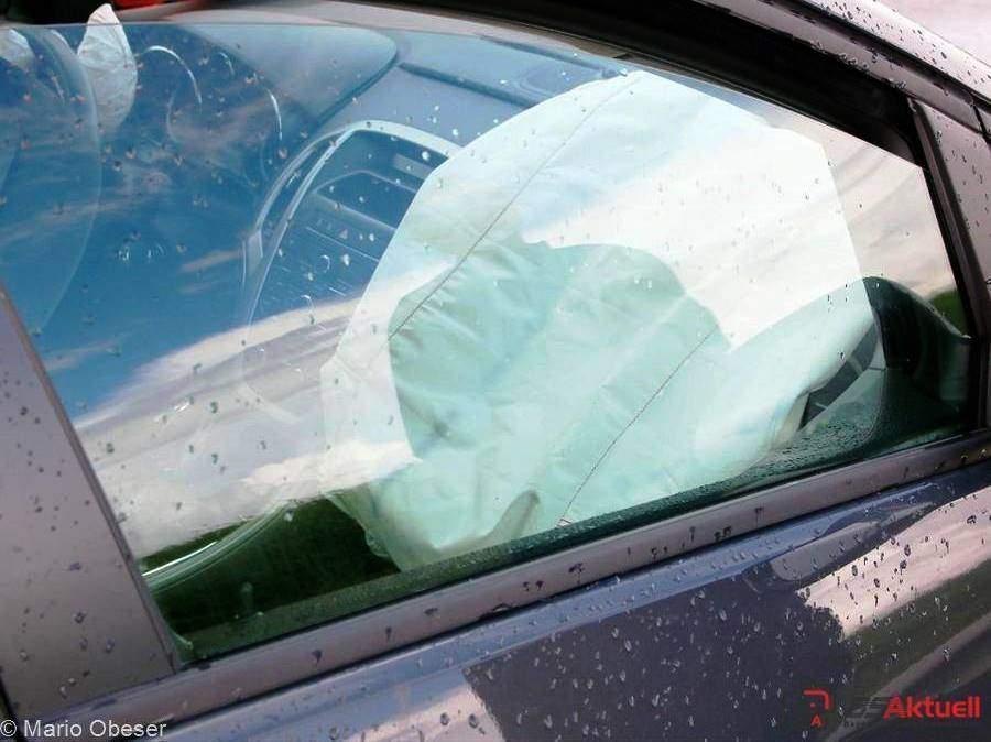 Airbag hat ausgelöst