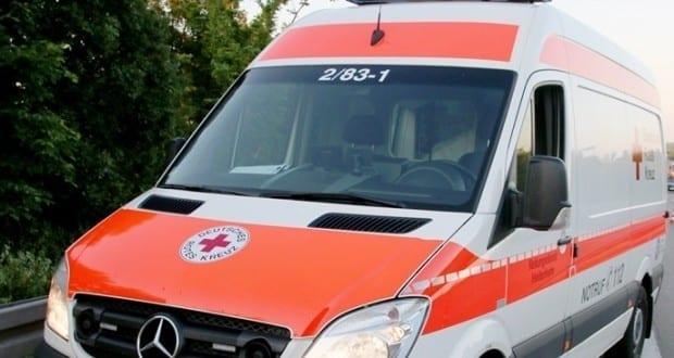 Fahrzeug des DRK - Rettungswagen