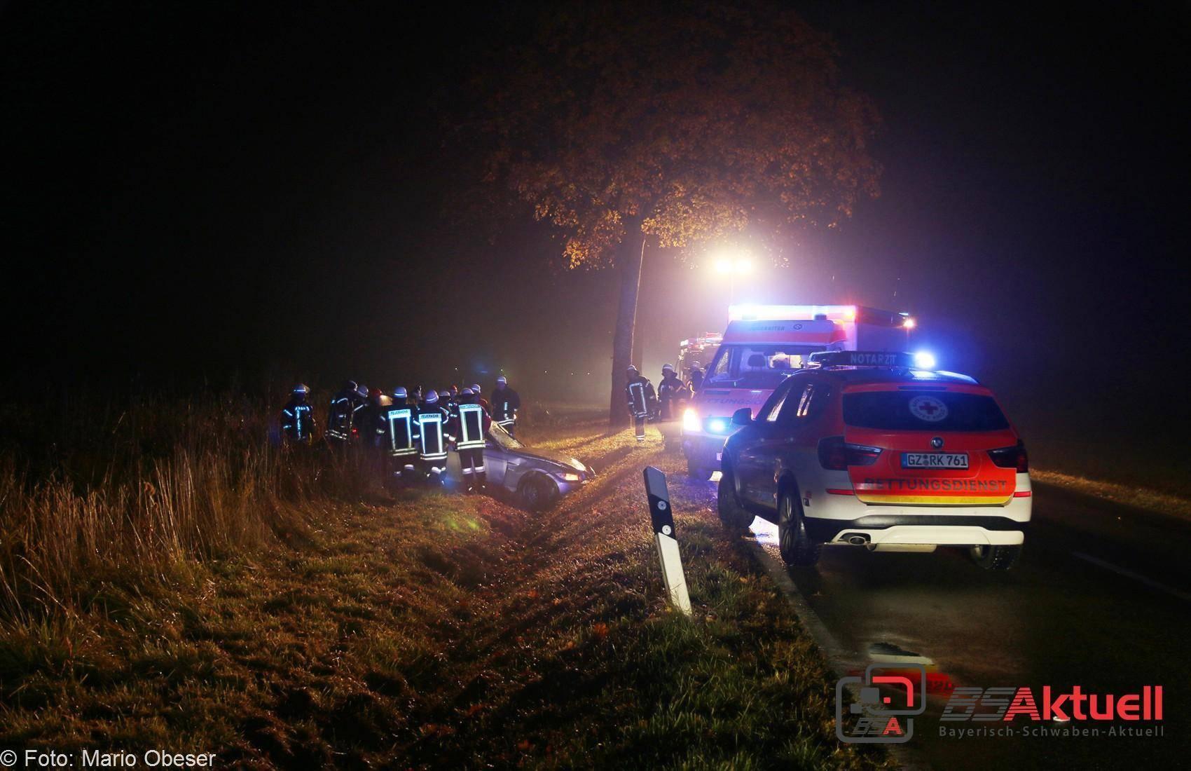 Verkehrsunfall zwischen Rieden und Kissendorf