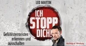 """Ex GeheimagentLeoMartin:""""Ichstoppdich!""""Buchtipp."""