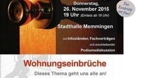 Polizei informiert in Memmingen