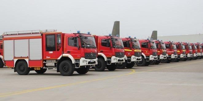 Ziegler übergibt Feuerwehrfahrzeuge an den Katastrophenschutz
