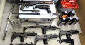 Waffen, Waffenlager sichergestellt